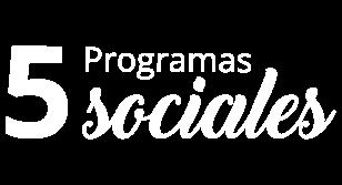 Programas Fundación La Cruz
